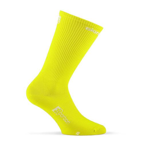 Giordana FR-C Extra Tall Cuff Socks Fluro Yellow