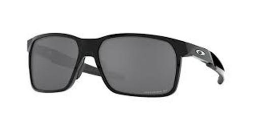 Oakley Portal X Polished Black w/ Prizm Black Polarized Lens