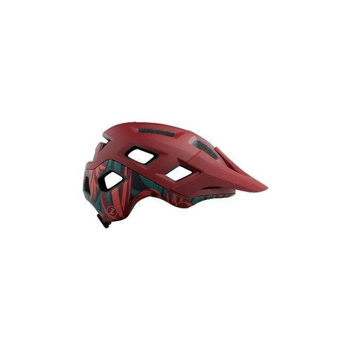 Lazer Coyote MIPS Helmet Red/Rainforest
