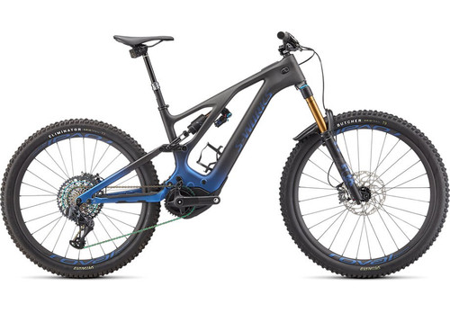 Specialized 2022 S-Works Turbo Levo Blue/Black/Silver