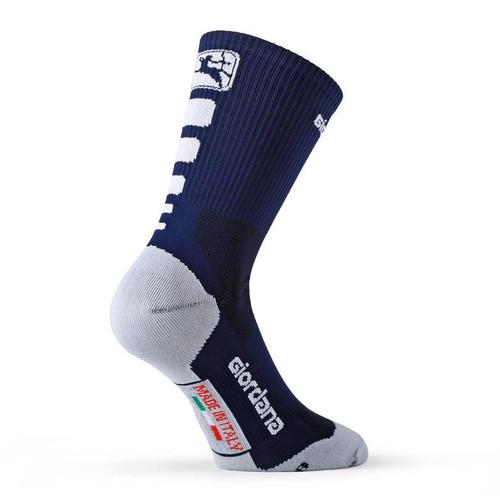 Giordana FR-C Tall Cuff Blue Socks