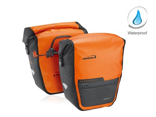 Ibera PakRak Waterproof Panniers 30L Single