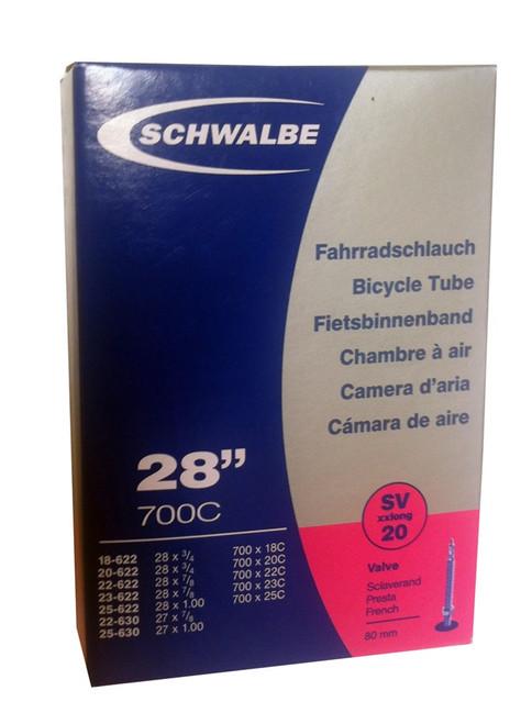 Schwalbe Tube  700 x 18/25 LV80mm XLite