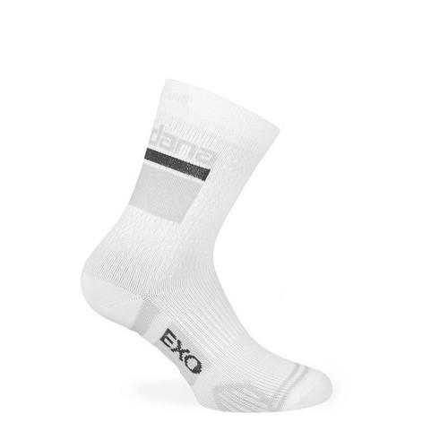 Giordana EXO Tall Cuff Compression Sock White