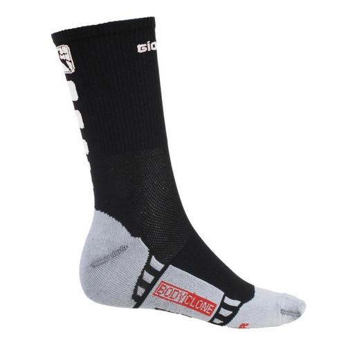 Giordana FR-C Tall Cuff Socks Black White