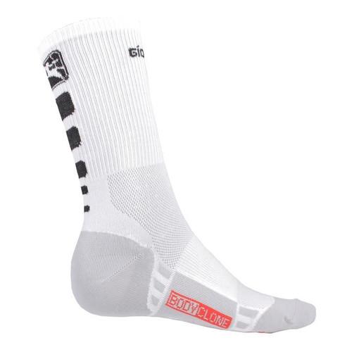 Giordana FR-C Tall Cuff Socks White Black