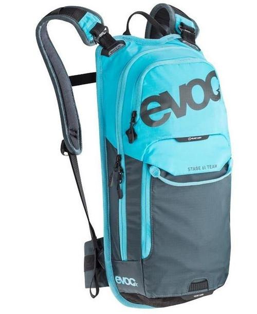 EVOC Stage 6L + 2L Bladder Team Neon Blue/Slate Backpack