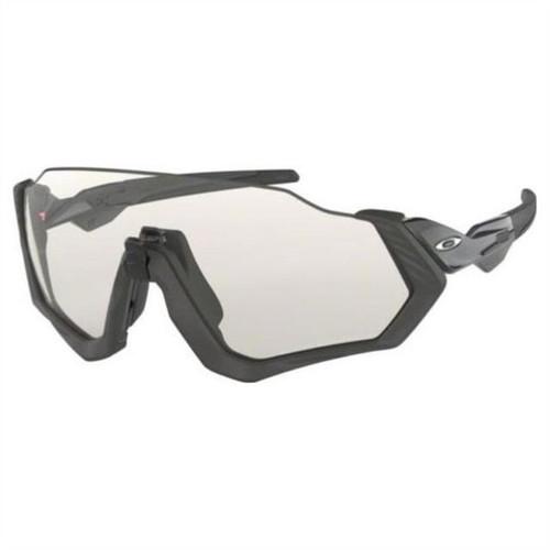 Oakley Flight Jacket Steel w/ Photochromic Lens