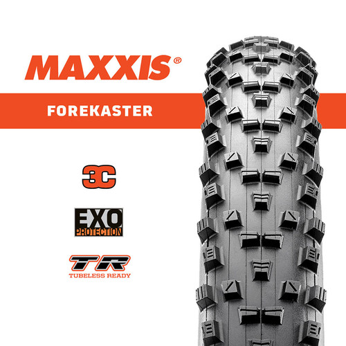 TYRE MAXXIS FOREKASTER 27.5 x 2.6 EXO FOLDING