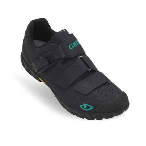 Giro Terradura Womens Shoes Black/Green
