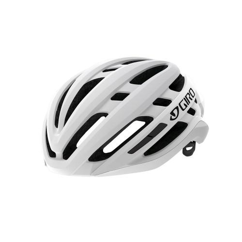 Giro 2021 Agilis Matte Black Fade Helmet Matte White