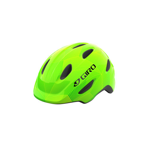 Giro 2021 Scamp Helmet Green/Lime Lines