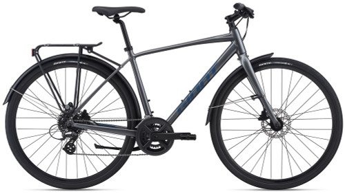 Giant 2021 Cross City 2 Disc Equipped Charcoal