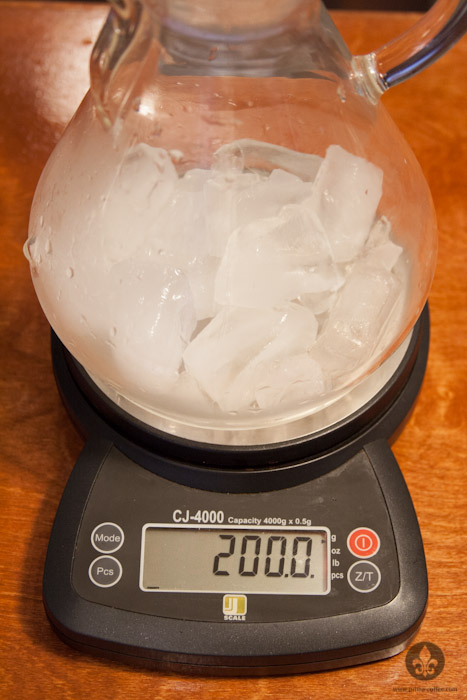 ice weight in chemes