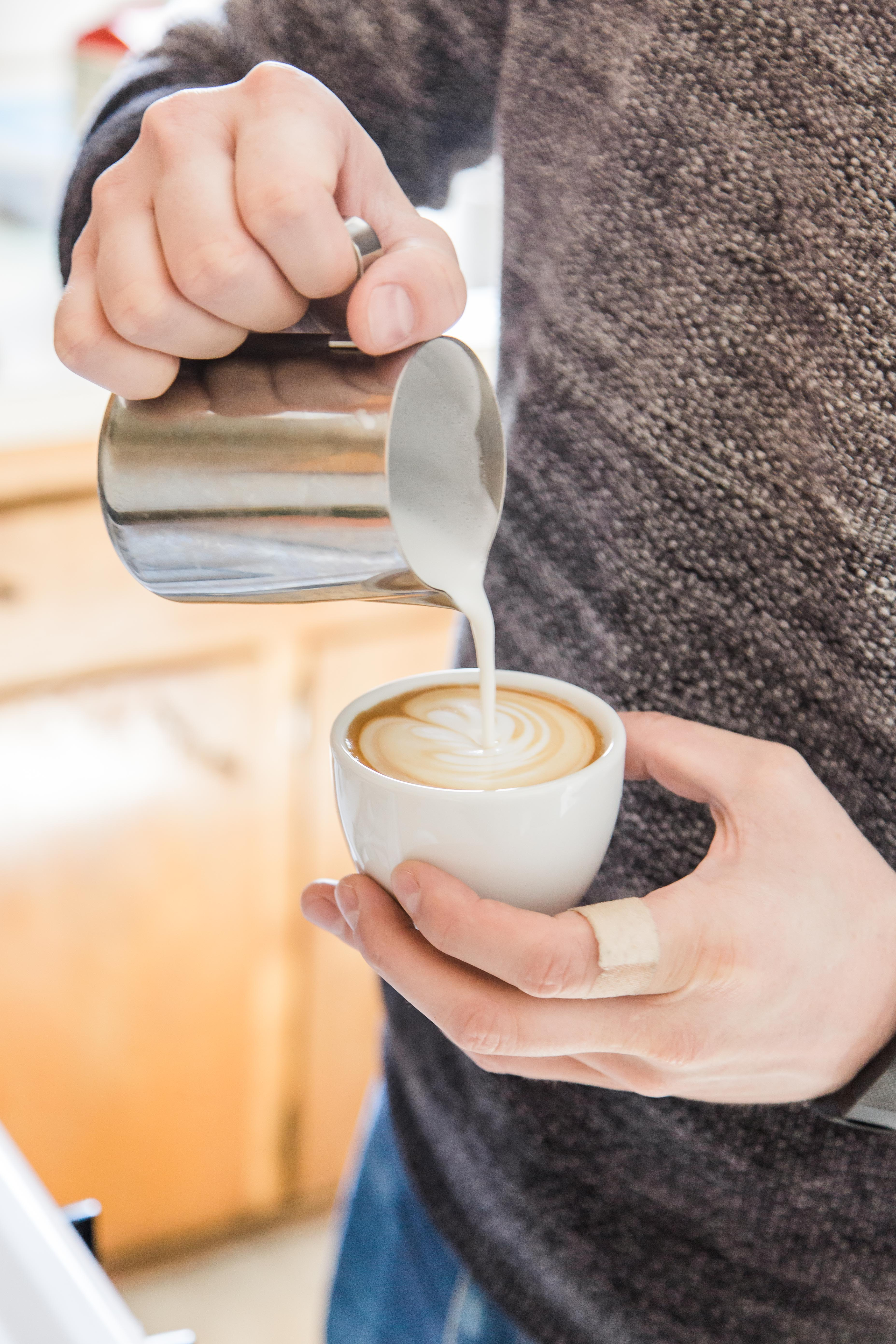 Practice those rosettas and tulips at home, the Bellman is capable of creating great microfoamed milk for latte art.