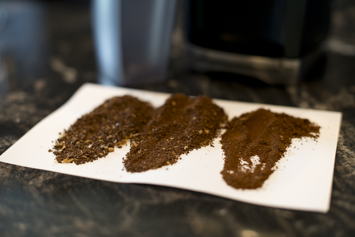 The hallmark of a good burr grinder is consistency at a broad range of grind sizes.