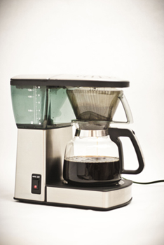 bonavita automatic coffee brewer side view