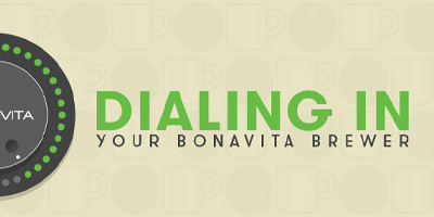 Dialing in with the Bonavita Coffee Maker
