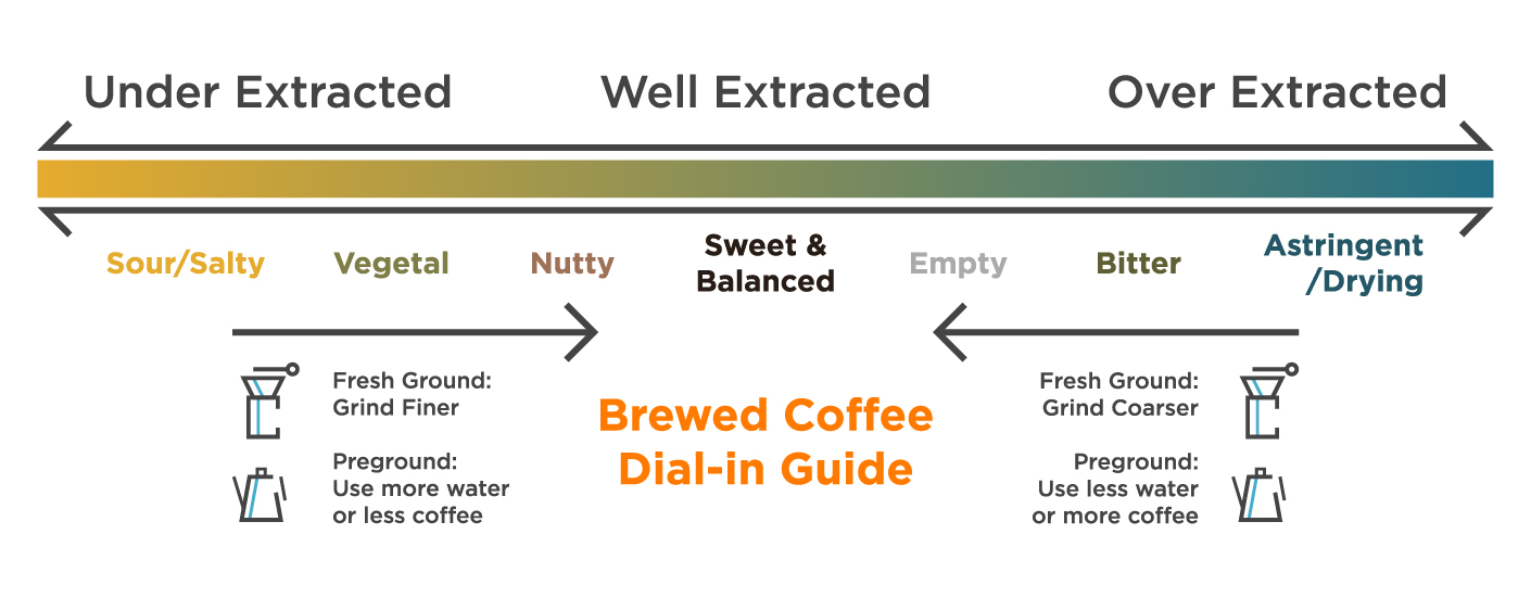 Brewed Coffee Dial-in Guide