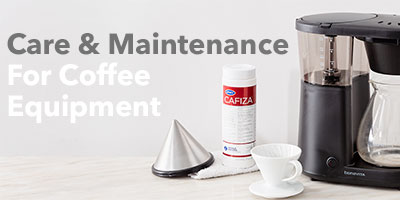 Care and Maintenance for coffee equipment