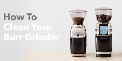 How to clean your burr grinder