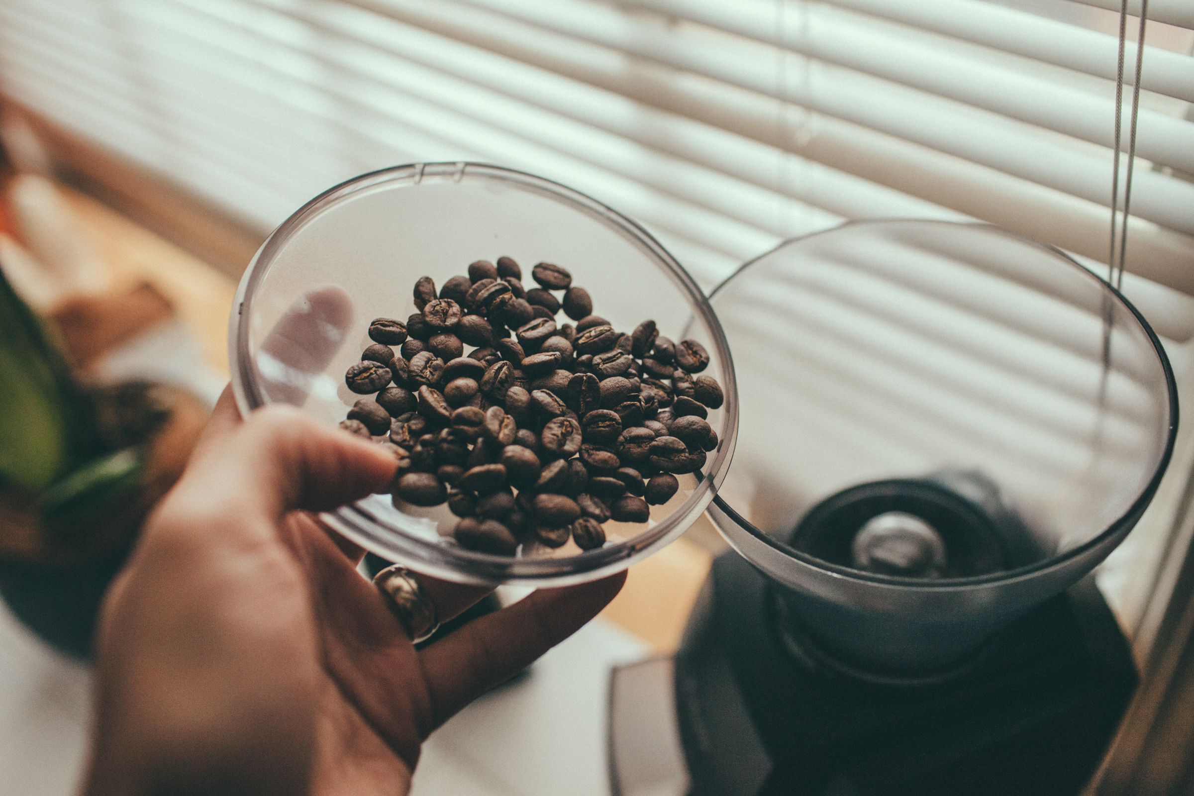 A good burr grinder is essential to making great coffee at home