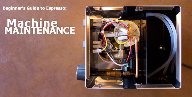 espresso machine maintenance blog post