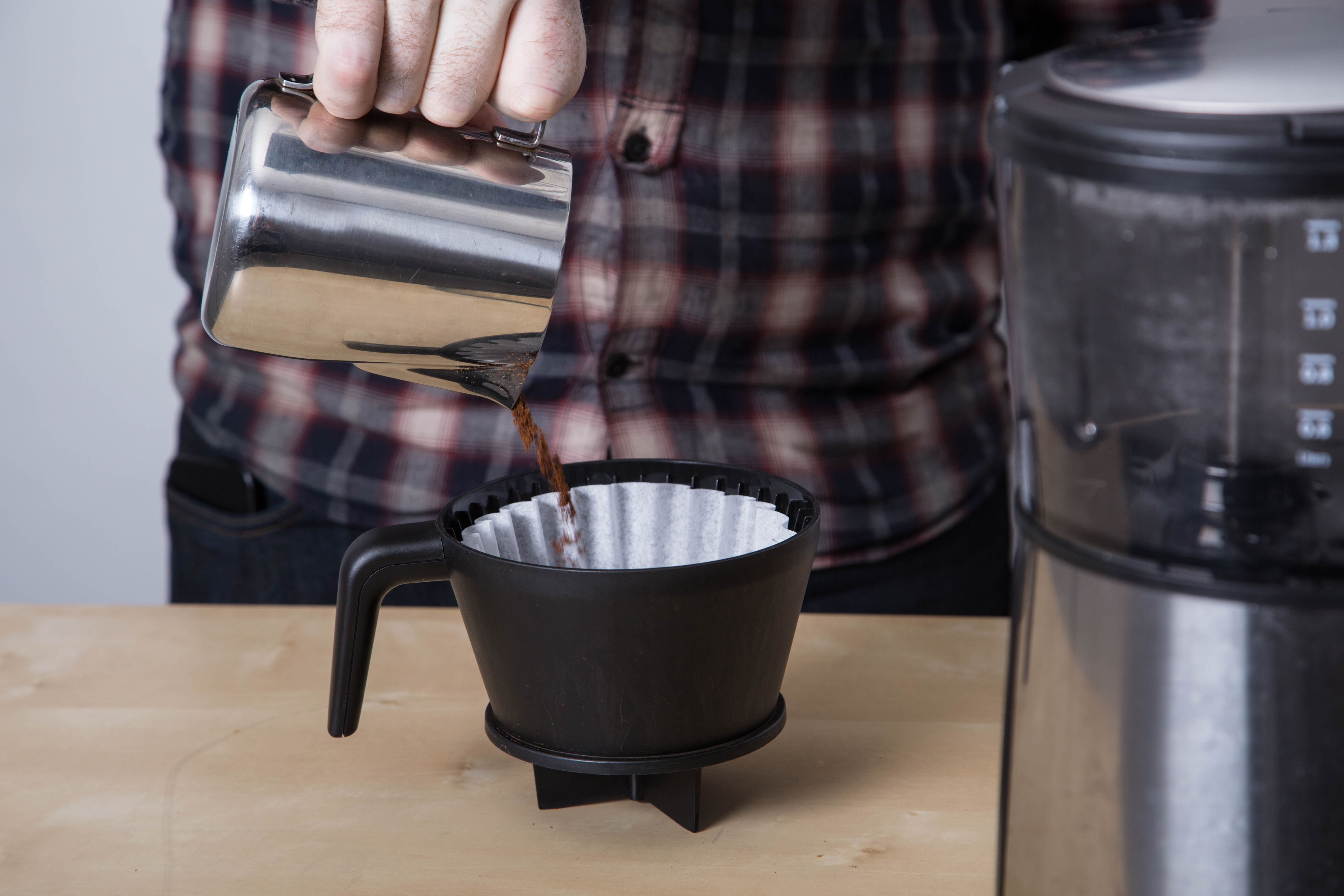 The Bonavita BV1900TS was chosen for this experiment because of its ability to brew consistently