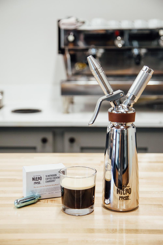 Classic Nitro Cold Brew summer coffee beverage
