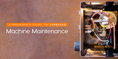 espresso machine maintenance
