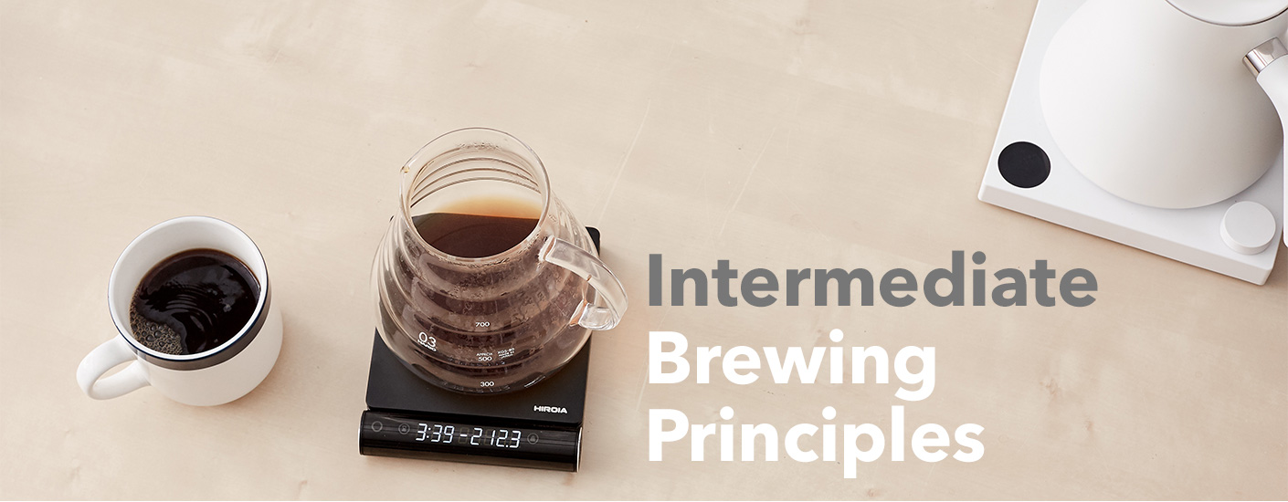 Intermediate Coffee Brewing Principles