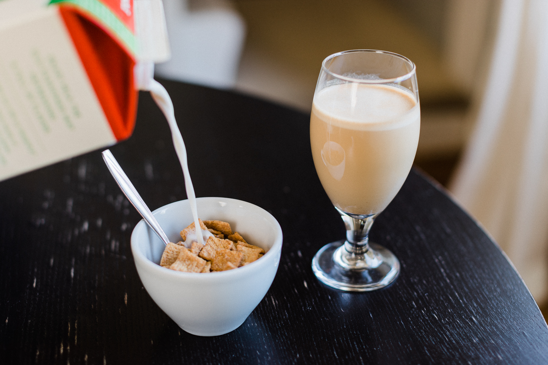 Cinnamon Toast Crunch Latte summer coffee beverage