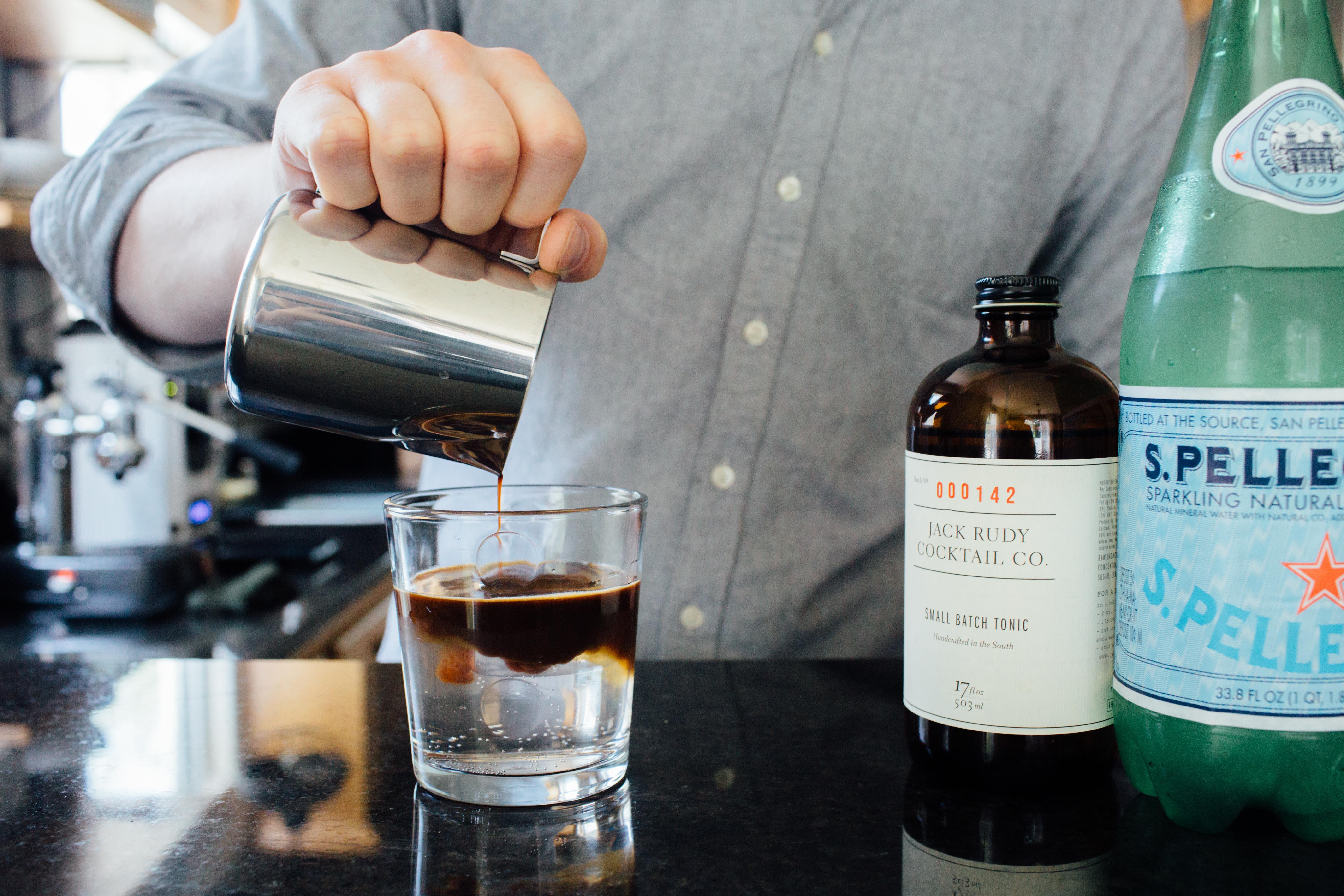 Add espresso and enjoy