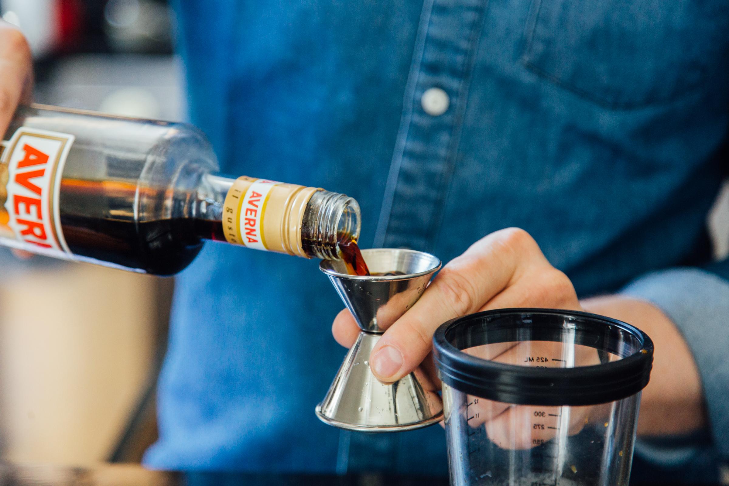 Adding Averna to coffee cocktail