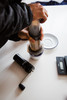 knock aergrind hand grinder aeropress brew