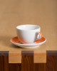 large porcelain cappuccino coffee mug