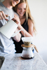 Hario Bona Enamel Pouring Kettle couple