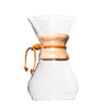 Chemex Classic Series Glass Coffeemaker, 8 cup capacity