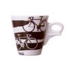 vintage design italian espresso cup