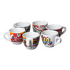 Decorated Porcelain Demitasse Cups