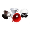 Hario V60 02 Drippers in glass, ceramic, steel and plastic