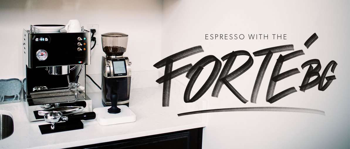 Can You Make Espresso With the Baratza Forte Brew Grinder?