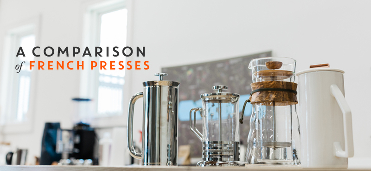 A Comparison of French Presses