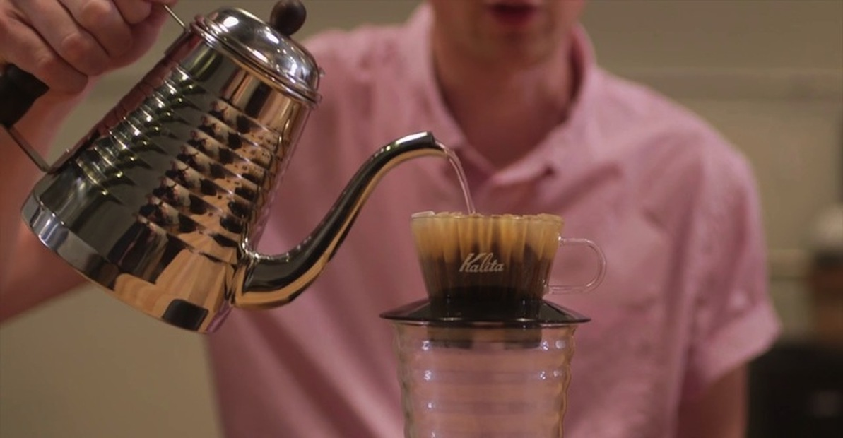 How to Brew: Kalita Wave Pour Over Coffee Dripper