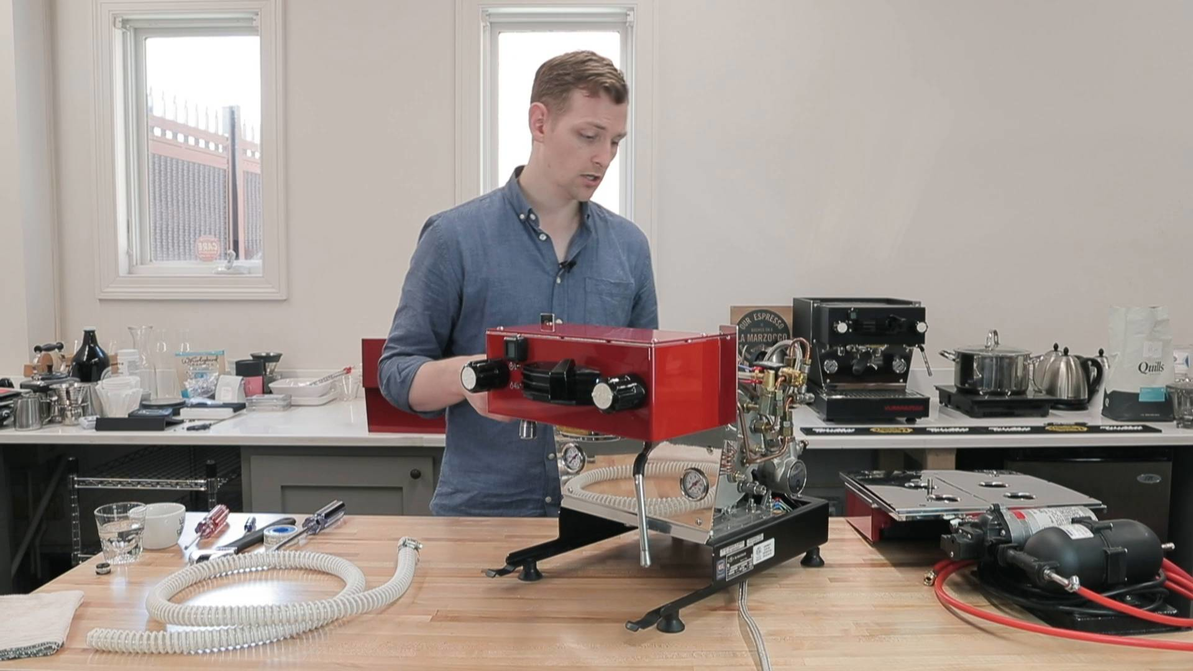 Product Maintenance | How to Install Your La Marzocco Linea Mini Plumb In Kit