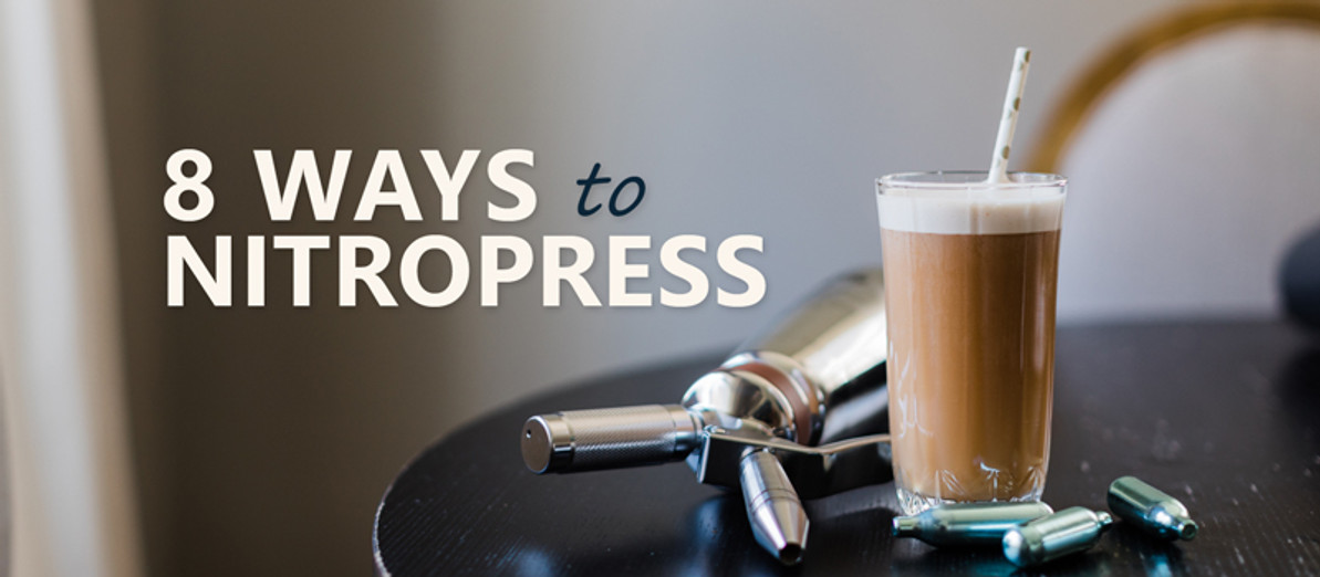 8 Delectable Nitro Coffee and Tea Recipes for the NitroPress