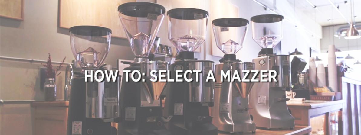 Video: How to Choose a Mazzer Espresso Grinder