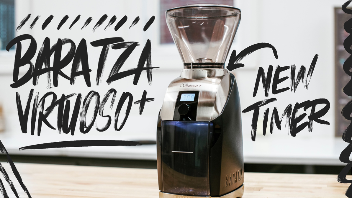 Video Overview   Baratza Virtuoso+ Conical Burr Coffee Grinder