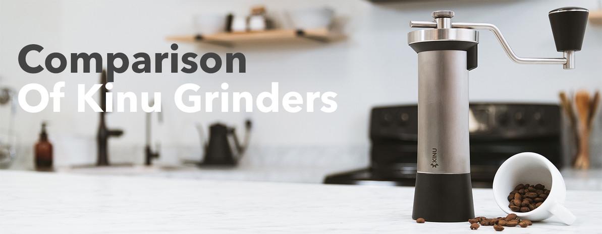 Product Comparison   Kinu Manual Coffee and Espresso Grinders