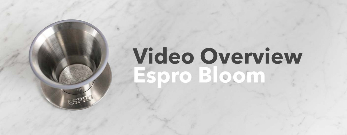 Video Overview   Espro BLOOM Pour Over Coffee Dripper